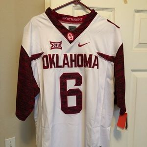 low priced 8ffed 935ea Oklahoma sooners Baker Mayfield Jersey special NWT
